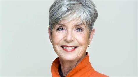 Pierette Top Grey hanne bech hansen 75 grey hair courage to grow