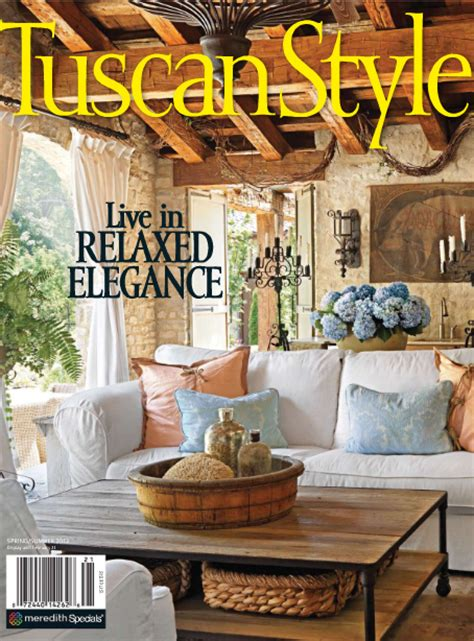 tuscan home decor magazine vignette design tuscan style is finally here