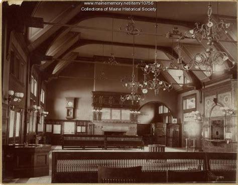 zoom room portland waiting room union station portland ca 1890 maine memory network