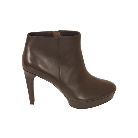rockport s boots uk rockport janae brown leather high heel ankle boot