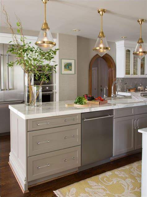 taupe kitchen cabinets centsational style