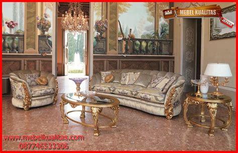 Kursi Sofa Termurah deskripsi kursi tamu sofa klasik mewah terbaru vatron kts