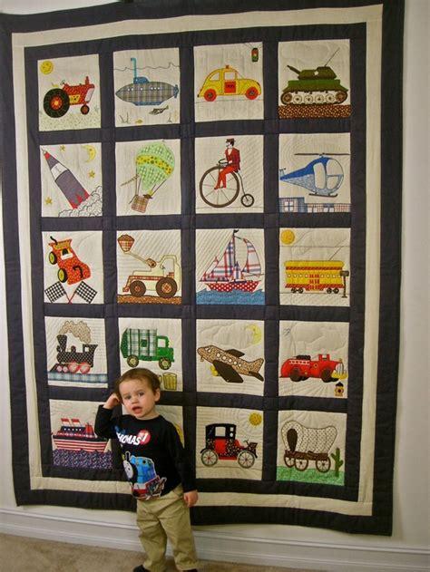 Transportation Quilt Pattern transportation quilt complete set pattern by pam bono