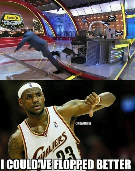 Lebron Flop Meme - 58 best images about nba memes on pinterest serge ibaka