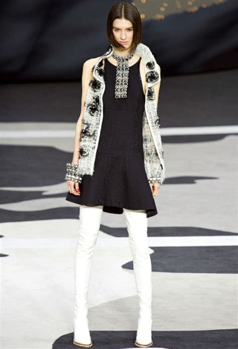 Cheap Chic Home Decor chanel fall 2013 rtw glitter tweed vest saved by chic n