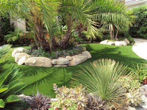 tropical backyard landscaping front yard landscaping tropical ideas home design inside