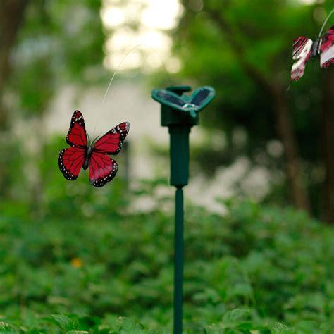 butterfly solar garden lights new outdoor butterfly garden lights solar power lawn light