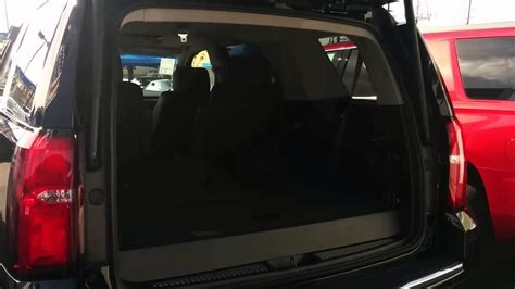 chevy tahoe third row seat removal 2015 chevrolet tahoe power folding 3rd row seats and power
