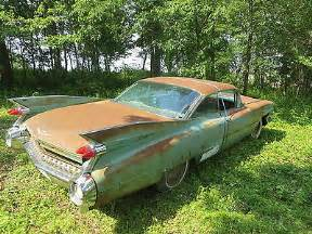 Cheap Cadillacs For Sale 1959 Cadillac For Sale For Restoration Autos Weblog
