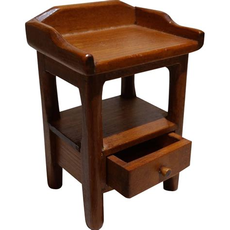 Marked Furniture dollhouse furniture marked toncoss side table with drawer
