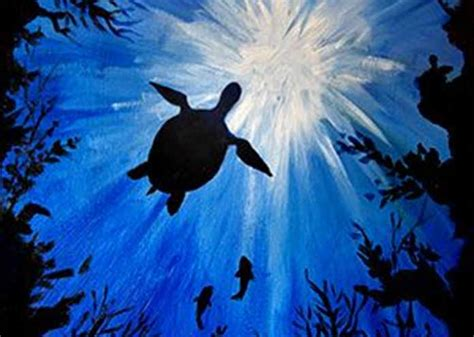 paint nite sault ste paint nite sea turtle saultonline