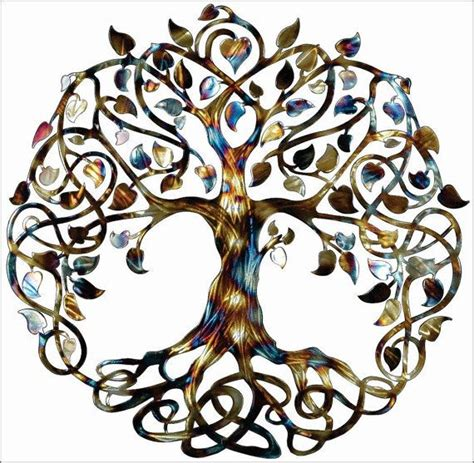 Infinity Symbol Spiritual Meaning Tree Of Infinity Tree Wall Decor By