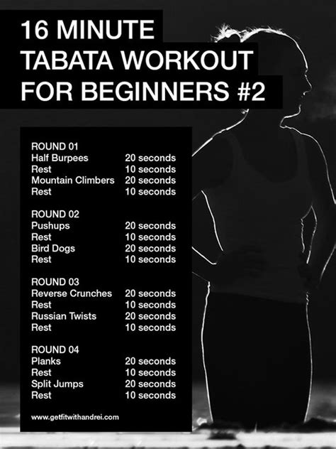 i tabata workouts i ve been doing them for about 3