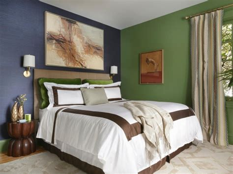 blue green paint color bedroom solid color bedroom inspiration feature artistic painting
