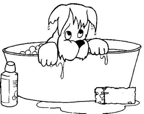coloring page bathtub bath coloring pages coloringpages1001 com