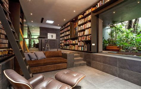 Reading Chairs Comfortable Design Ideas This Gorgeous Home Is A Nature Loving Bookworm S Paradise