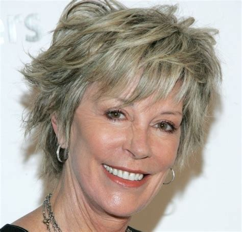 cool haircuts for 60 year old women cool short shaggy haircuts for older women short