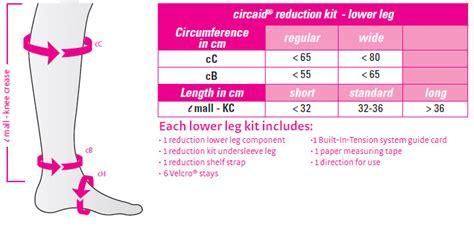 Circumference Length Measuring Band shop 187 circaid reduction kit for lower leg