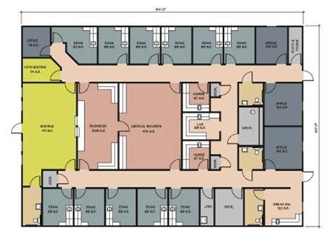 physical therapy clinic floor plans designs of physical therapy departments google search