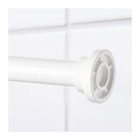 shower curtain rod ikea botaren shower curtain rod white 120 200 cm ikea