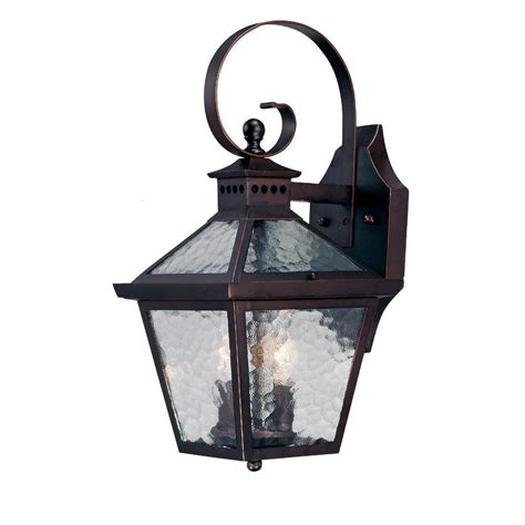 Light Fixtures Exterior Acclaim Lighting Tidewater Collection Wall Mount 1 Light Outdoor Architectural Bronze Fixture