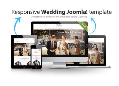 wedding joomla template lt free one page responsive wedding joomla template