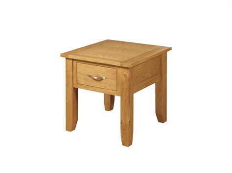 Annaghmore Ellington Oak Living Room End Table Blue Oak Side Tables For Living Room