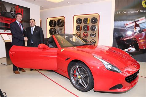 ferrari dealership showroom ferrari opens official dealership in new delhi