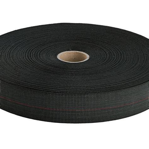 mm black  elasticity seat webbing metre  stripe