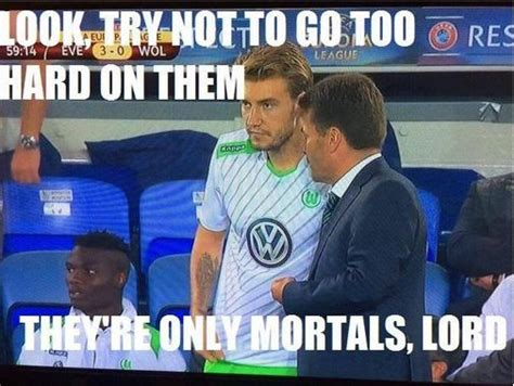 Funny Everton Memes - arsenal news gunners flop nicklas bendtner mocked with