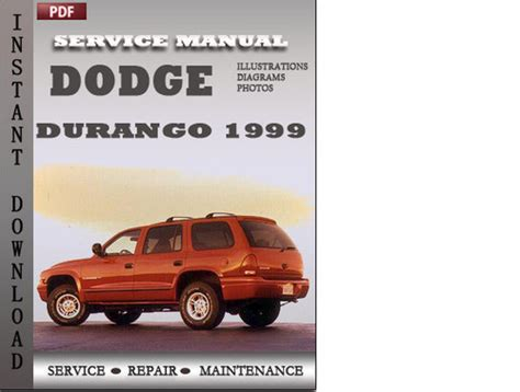dodge durango 2001 factory service repair manual pdf zip download dodge durango 1999 factory service repair manual download downloa