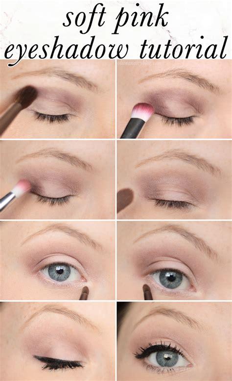 tutorial makeup eyeshadow pink light pink eye makeup tutorial mugeek vidalondon