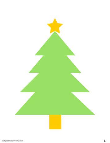 free printable large christmas tree decorate your own christmas tree free printable simple