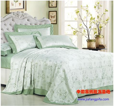light green bedding aliexpress com buy light green 100 bamboo sheets bedding set leaf print bed cover