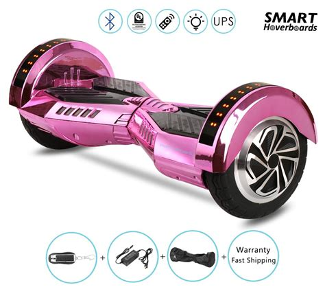 bluetooth hoverboard with lights 8 quot lamborghini chrome gold hoverboard with remote
