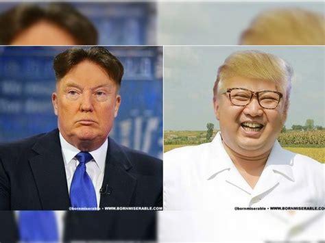 donald trump vs kim jong un donald trump vs kim jong un lustiger firsurentausch wird