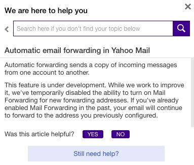 email yahoo forwarding yahoo mail users report email forwarding feature is