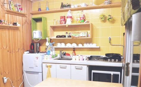 Korean Kitchen by Like Locals In Korea Our Cozy Rooftop Apartment In Seoul