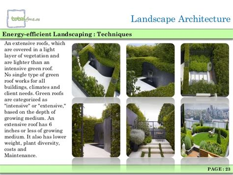 Landscaping Architecture Types Of Landscaping
