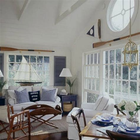 nautical living rooms inspirations on the horizon nautical coastal rooms