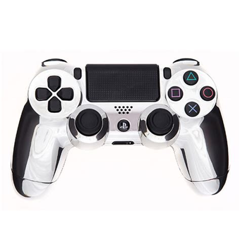 Hoodie Jumper Broadcast Yourself playstation dualshock 4 custom controller chrome silver
