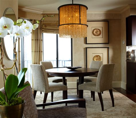 Apartment Dining Room by East Side New York City Apartment