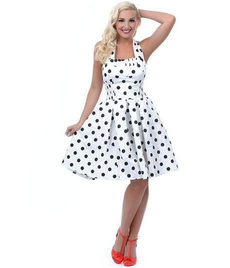 black and white polka dot swing dress swing dress black with white polka dots long hairstyles