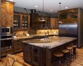 Big Kitchens With Islands by Remarkable Extra Large Kitchen Island From Reclaimed Wood