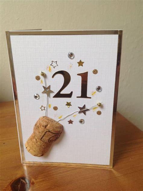 21st Birthday Card Ideas For A Boy