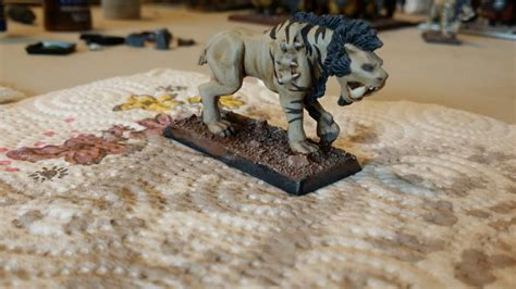 tutorial forge world giant spined chaos beast mgm painting wip ogre army mgm painting