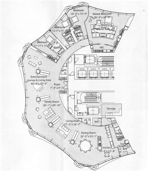 cn tower floor plan penthouses in chicago floor plans spired condo