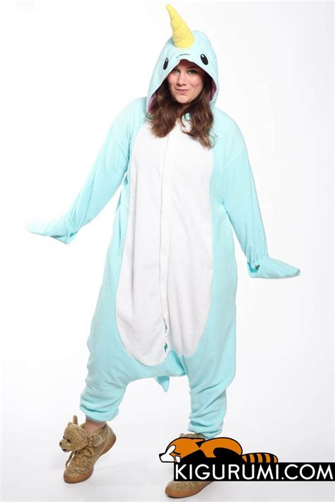 blue narwhal onesie costumes narwhal costume adult