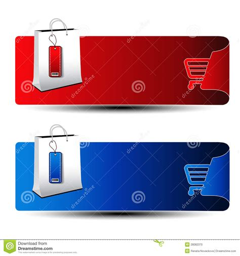 product banner template product banner shopping offer template stock photo
