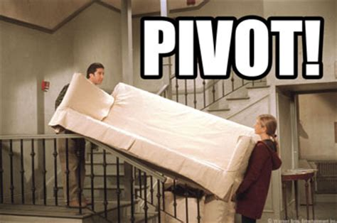 Friends Pivot by 10 Things We Miss About Friends Series Tv